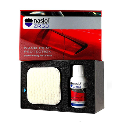 ORIGINAL ZR53 Car Ceramic Coating Nano 9h Paint Protection Sealant 50 ml. Kit