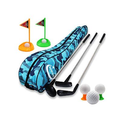 Kid's Toy Golf Clubs Set Deluxe Outdoor
