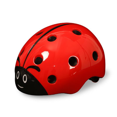 Bingggooo Children's Multi-Sport Ladybug Helmet